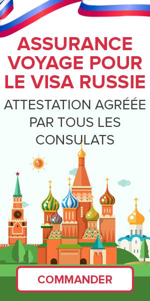 Assurance Voyage Russie