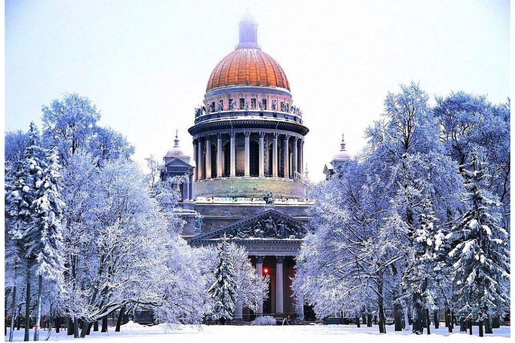 Saint-Petersbourg en hiver