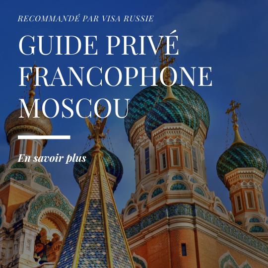 Guide Privé Moscou